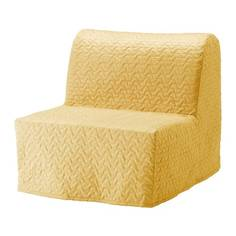 ЛИКСЕЛЕ Чехол кресла-кровати, Валларум желтый Ikea