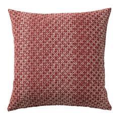 ДАГГРУТА Чехол на подушку, красно-коричневый Ikea