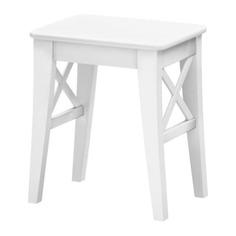 ИНГОЛЬФ Табурет, белый Ikea