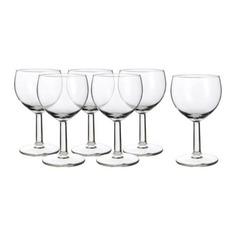ФОРСИКТИГТ Бокал для вина, прозрачное стекло Ikea