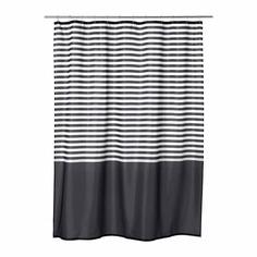 ВАДШЁН Штора для ванной, темно-серый Ikea