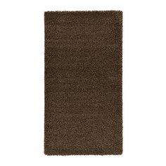 ОДУМ Ковер, длинный ворс, светло-коричневый Ikea