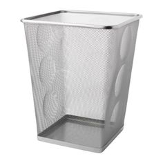 ДОКУМЕНТ Корзина для бумаг, серебристый Ikea