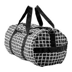 КНЭЛЛА Спортивная сумка, черный, белый Ikea