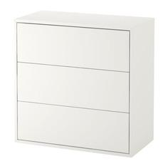 ЭКЕТ Шкаф с 3 ящиками, белый Ikea