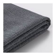 ВАЛЛЕНТУНА Чехол на подушку спинки, Хилларед темно-серый Ikea