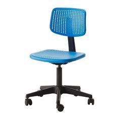 АЛЬРИК Рабочий стул, синий Ikea