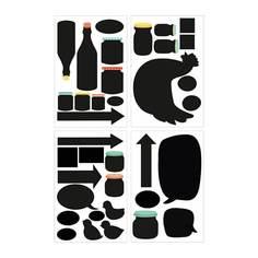 КЛЭТТА Декоративные наклейки, символы Ikea