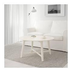 КРАГСТА Журнальный стол, белый Ikea