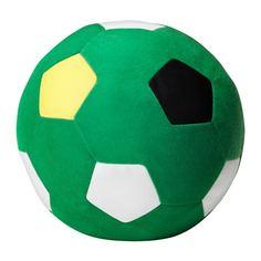 СПАРКА Мягкая игрушка, футбольный зеленый, зеленый Ikea