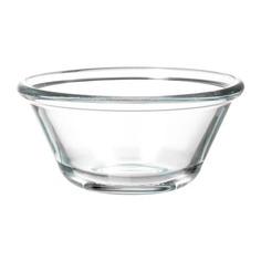 ВАРДАГЕН Миска, прозрачное стекло Ikea