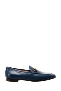 Кожаные лоферы Jordaan Gucci