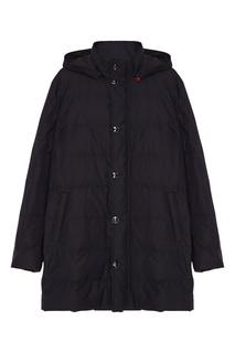 Стеганая куртка с капюшоном Kiton