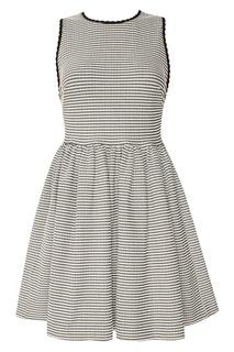 Платье в полоску Miu Miu