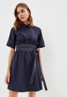 Платье LOST INK TIE SIDE SHIRT DRESS