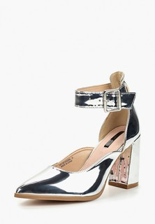 Туфли LOST INK TEGAN ANKLE STRAP BLOCK HEEL
