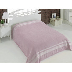 Простынь Karna махровая Rebeka 200x220 см грязно-розовый (2655 / CHAR005)