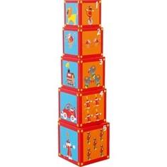 Кубики SCRATCH Stacking Tower Circus