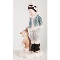 Snowmen фигурка девочка с медведем 18, 5см Рождество (Е92355)