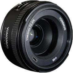 Объектив Yongnuo 40mm F2.8 для камер Nikon