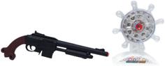 Игрушечное оружие S+S TOYS Пистолет 933-H1C с ИК прицелом и мишенью