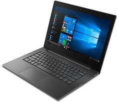 "Ноутбук LENOVO V130-14IKB, 14"", Intel Core i3 7020U 2.3ГГц, 4Гб, 500Гб, Intel HD Graphics 620, Windows 10 Professional, 81HQ00EBRU, темно-серый"
