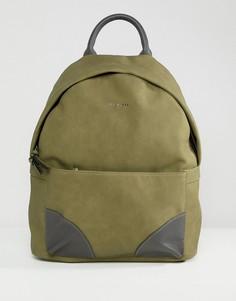 Рюкзак из искусственного нубука Ted Baker Graveet - Зеленый