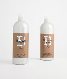 Шампунь и кондиционер для волос TIGI Bedhead men clean up - Бесцветный