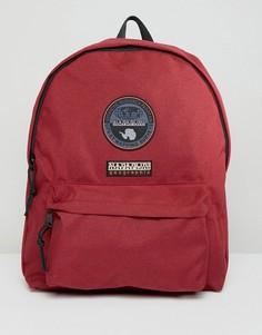 Бордовый рюкзак с логотипом Napapijri Voyage - Красный