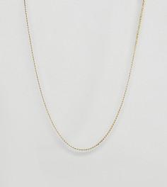 Позолоченное ожерелье-цепочка Regal Rose - Золотой
