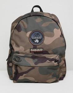 Камуфляжный рюкзак с логотипом Napapijri Voyage - Зеленый