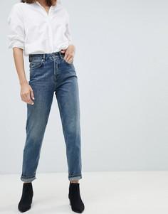 Джинсы в винтажном стиле Selected Femme - Синий