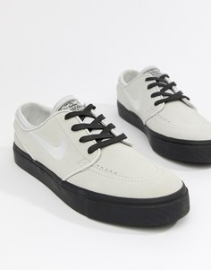 Серые замшевые кроссовки Nike SB Zoom Stefan Janoski 333824-068 - Серый c90cfb790ad