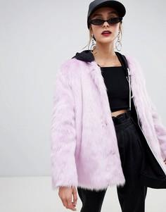 Куртка из искусственного меха Story Of Lola - Фиолетовый