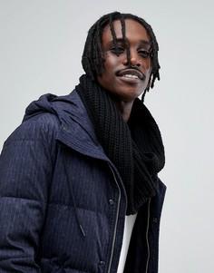 Черный шарф-снуд Antony Morato - Черный
