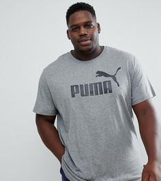Серая футболка Puma PLUS Essentials 85174003 - Серый