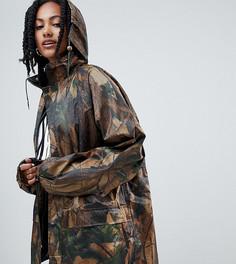 Куртка-дождевик Reclaimed Vintage inspired - Зеленый