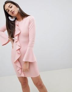 Облегающее платье Girls on Film - Розовый