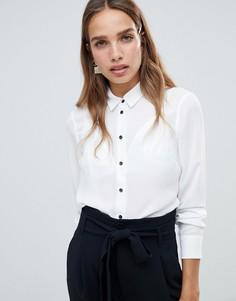Рубашка на пуговицах New Look - Белый