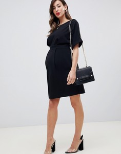 Платье мини ASOS DESIGN Maternity - Черный