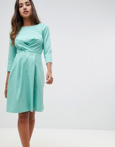 Платье с запахом Closet London - Зеленый