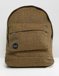 Рюкзак с узором в елочку Mi-Pac - Желтый