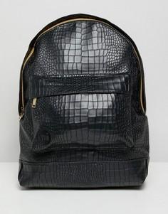 Рюкзак из искусственной крокодиловой кожи Mi-Pac - Черный