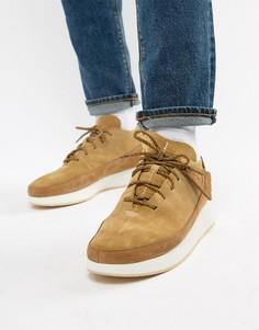 Замшевые кроссовки Clarks Originals Kiowa - Бежевый