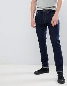 Синие темные джинсы скинни Esprit - Синий