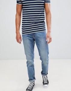 Синие джинсы скинни Weekday - Синий