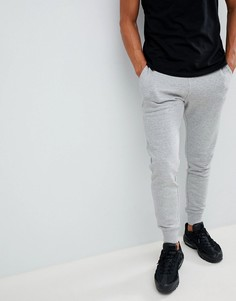 Серые меланжевые спортивные штаны New Look - Серый