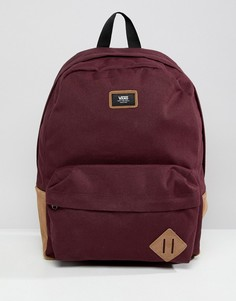 Красный рюкзак Vans Old Skool II VN000ONIKRJ1 - Красный