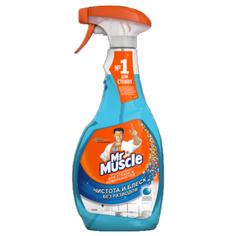 Средство для мытья стекол МИСТЕР МУСКУЛ ТРИГГЕР и других поверхностей спирт 500 мл