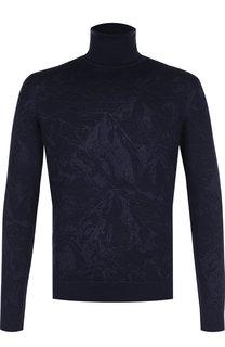 Водолазка из смеси шелка и кашемира Zegna Couture
